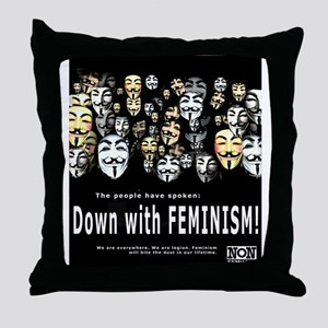 The People Have Spoken Throw Pillow