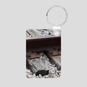 Railroad Track Keychains