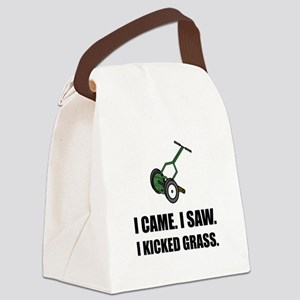 Came Saw Kicked Grass Canvas Lunch Bag