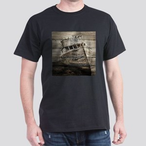 rustic boat beach nautical T-Shirt