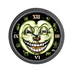 Black Cat 13 Clock Vintage Halloween Wall Clock