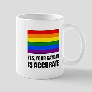 Gaydar Is Accurate Mugs