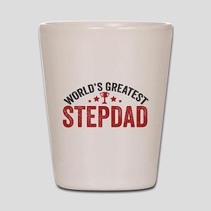 World's Greatest Stepdad Shot Glass