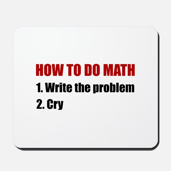 How To Do Math Mousepad