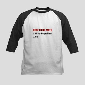 How To Do Math Baseball Jersey