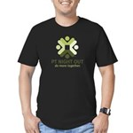 Men's Fitted Dark T-Shirt