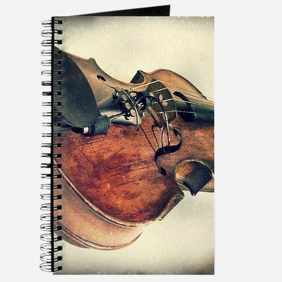 classic vintage violin Journal