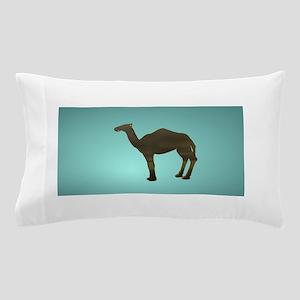 Blue Camel Cut Out Pillow Case