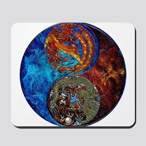 Harvest Moons Firebird & Dragon Mousepad