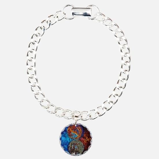 Harvest Moons Firebird & Dragon Bracelet