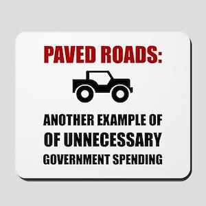 Paved Roads Mousepad