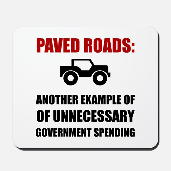 Paved Roads Mousepad
