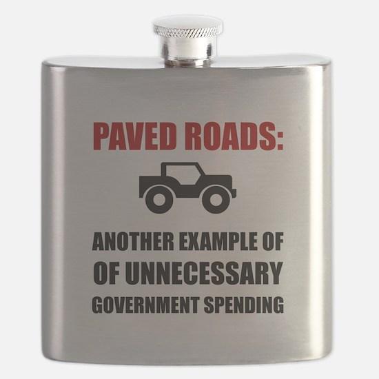 Paved Roads Flask