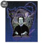 Edgar Allan Poe Black Cat Puzzle