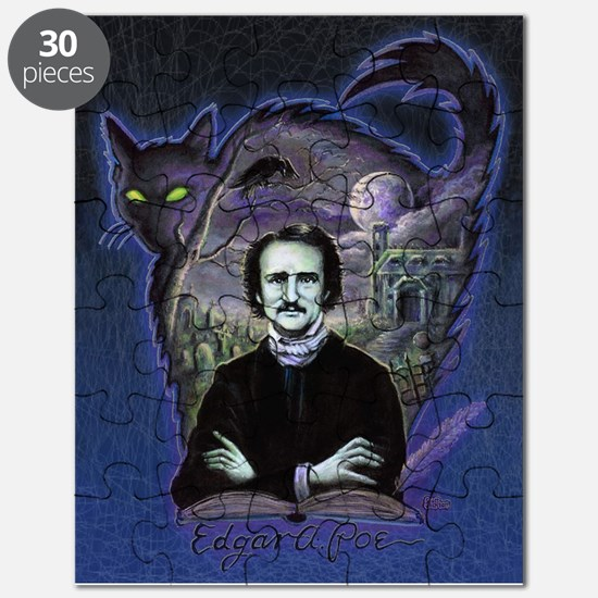 Edgar Allan Poe Black Cat Puzzle