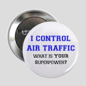 """control air traffic 2.25"""" Button"""