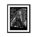 House of Zombies Framed Panel Print