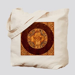 Harvest Moons Celtic Mandala Tote Bag