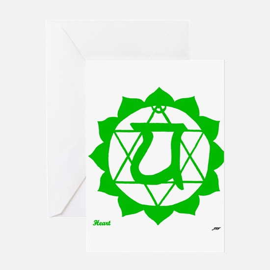 Heart Chakra Greeting Card
