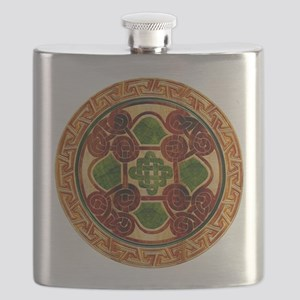 Harvest Moons Celtic Mandala Flask