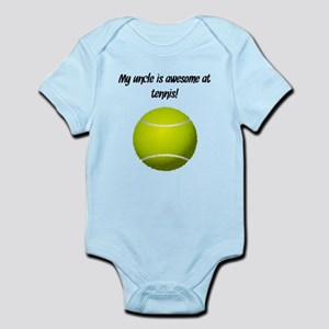 My Uncle Is Awesome At Tennis Body Suit