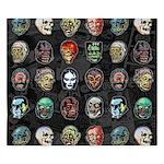 Horror Movie Monsters Masks King Duvet