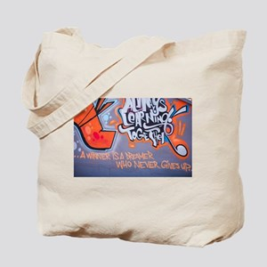 Always Learning Together Graffiti Tote Bag