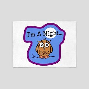 Night Owl 5'x7'Area Rug