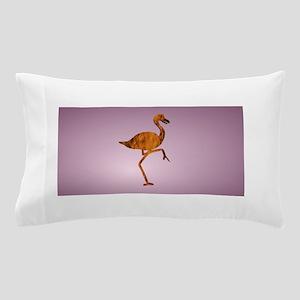 Flaming Flamingo Cut Out Pillow Case