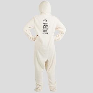 Risen Jesus Footed Pajamas