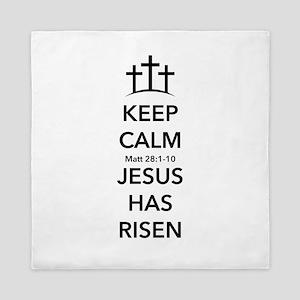 Risen Jesus Queen Duvet