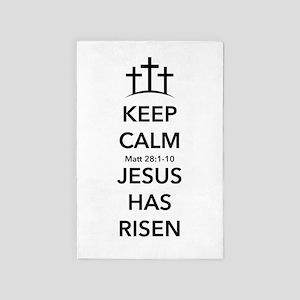 Risen Jesus 4' x 6' Rug