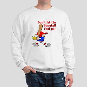 Ponytail Sweatshirt