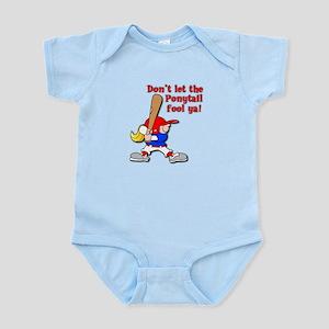 Ponytail Infant Bodysuit