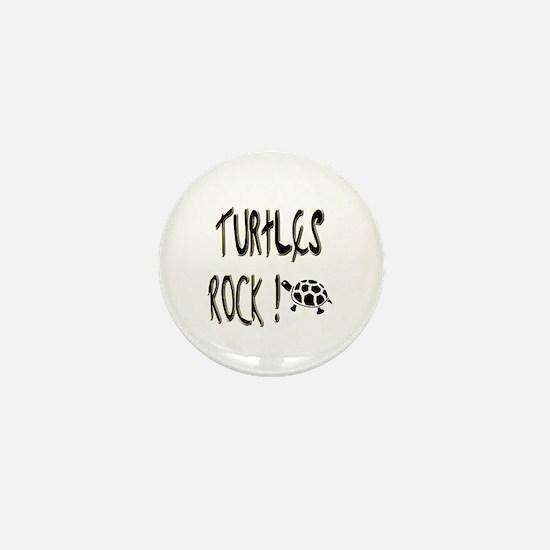 Turtles Rock ! Mini Button