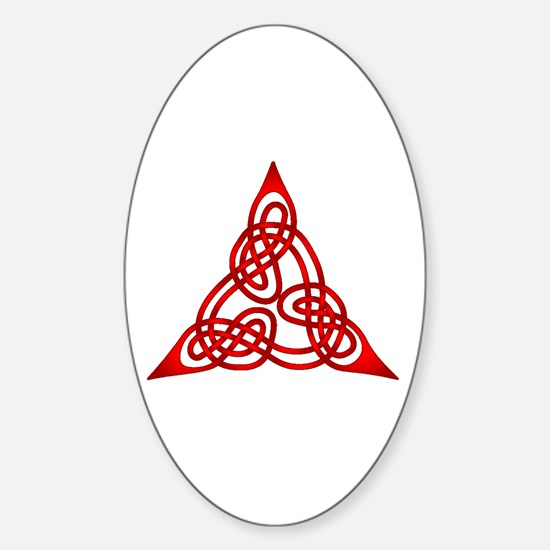Celtic Knot 66 Oval Decal