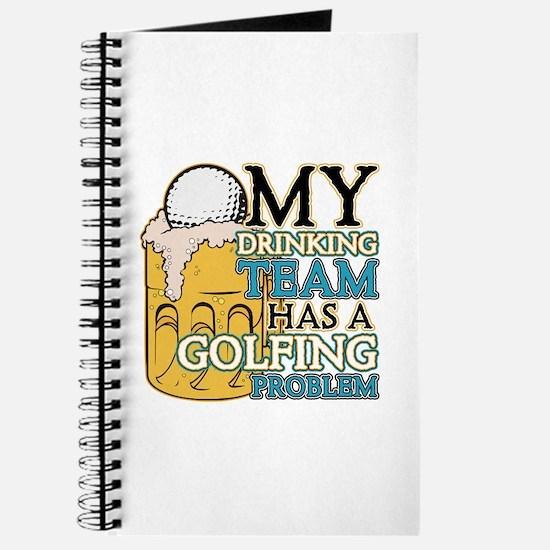 Golf Drinking Team Journal