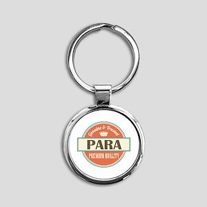 Paraeducator Para Round Keychain