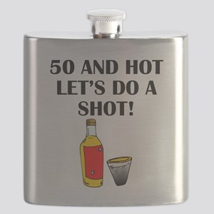 50 And Hot Flask
