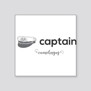 captain cunnilingus Sticker