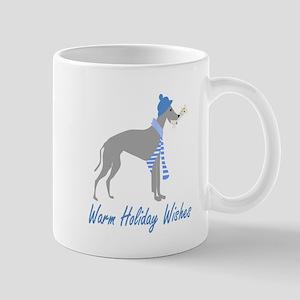 Warm Holiday Wishes Mugs