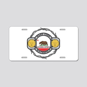 Hard Core California Volley Aluminum License Plate