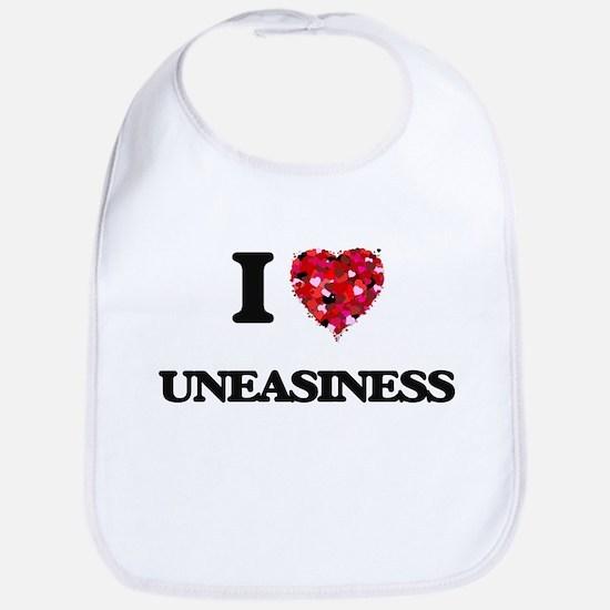 I love Uneasiness Bib
