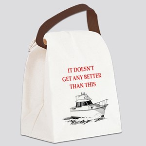 boating Canvas Lunch Bag