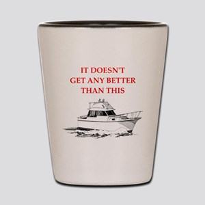 boating Shot Glass