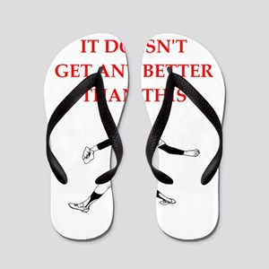 69fe18c55eed99 I Love Pitcher Flip Flops - CafePress