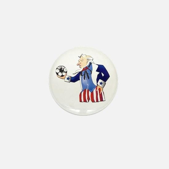 US Soccer Mini Button