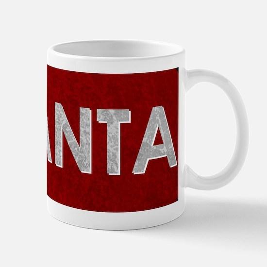 ATLANTA Red Stone Mug