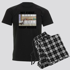 My First Trap house Men's Dark Pajamas