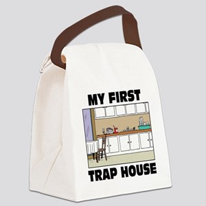My First Trap house Canvas Lunch Bag